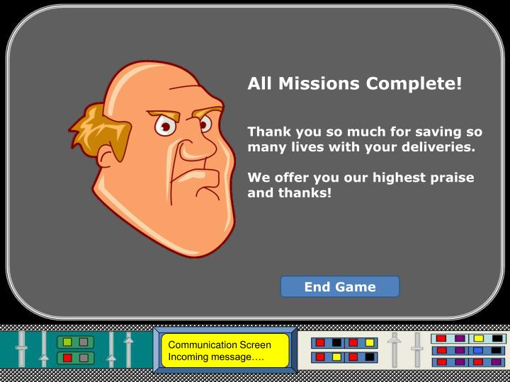 All Missions Complete!