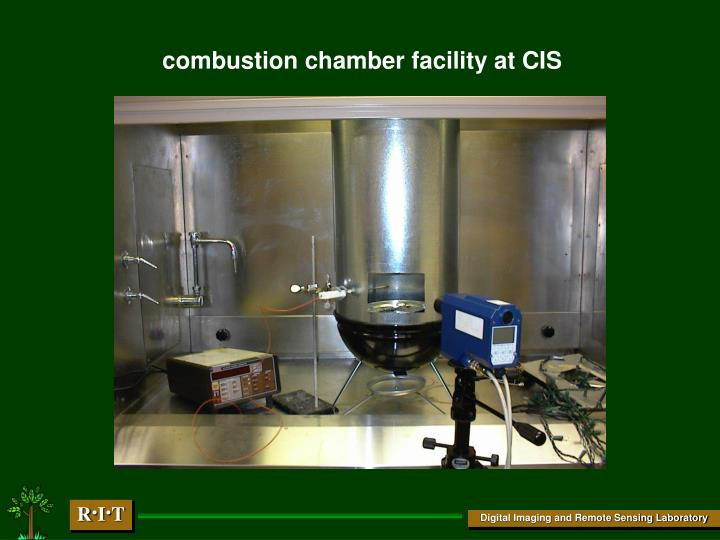 combustion chamber facility at CIS