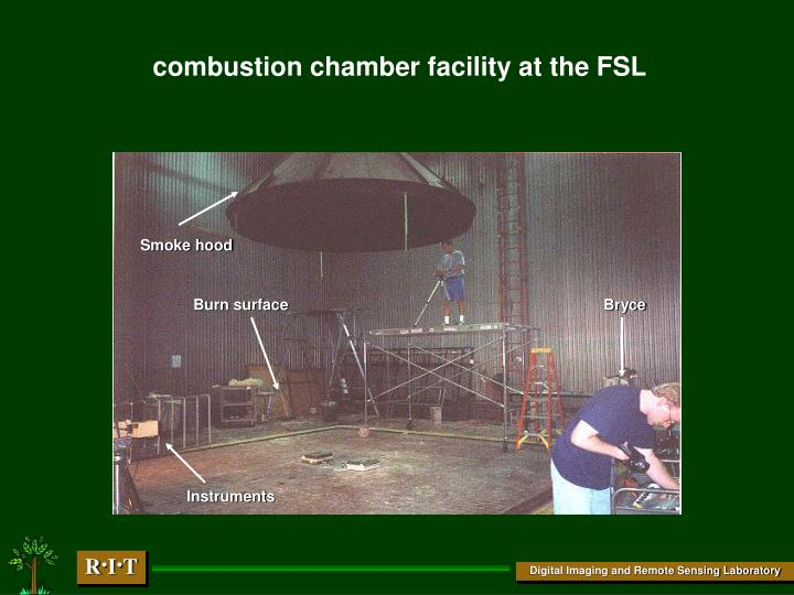 combustion chamber facility at the FSL