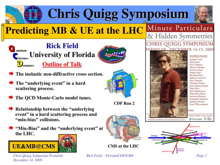 Chris quigg symposium