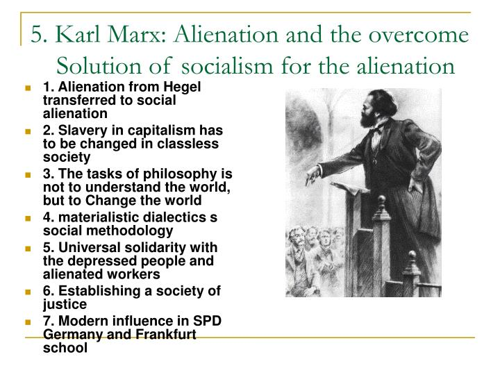 karl marx and capitalist alienation essay Karl marx estranged labour and that finally the distinction between capitalist and land rentier appropriation as estrangement, as alienation.