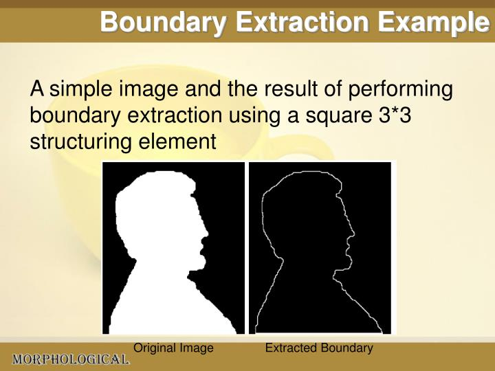 Boundary Extraction Example