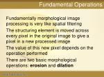 fundamental operations