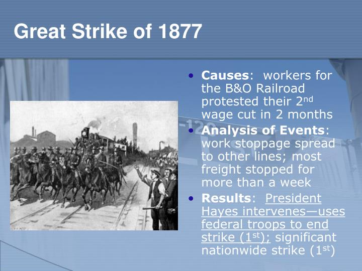 Great Strike of 1877