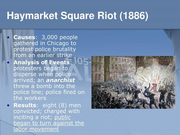 Haymarket Square Riot (1886)