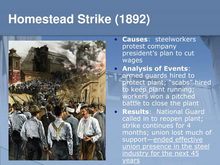Homestead Strike (1892)