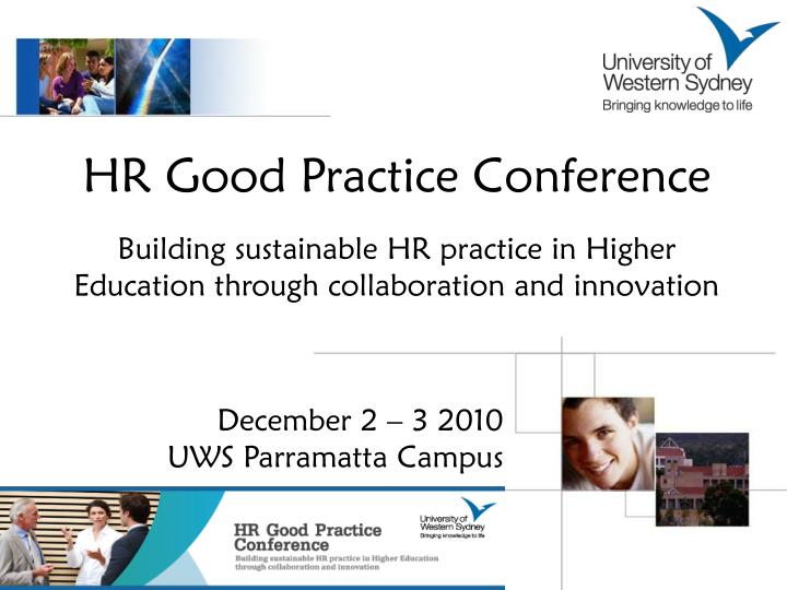 HR Good Practice Conference