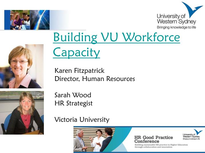 Building VU Workforce