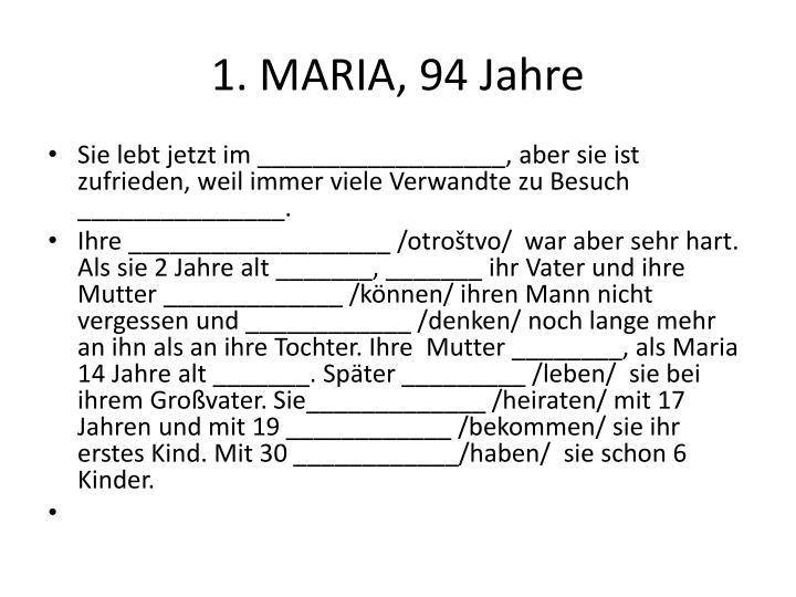 1. MARIA
