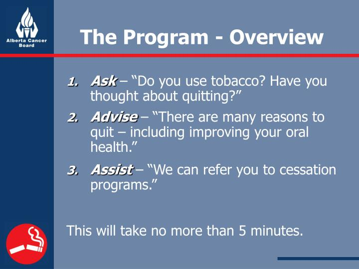 The Program - Overview