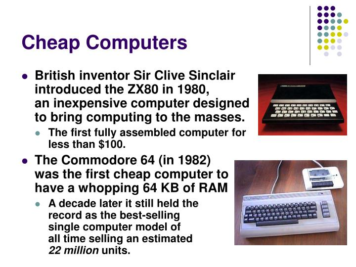 Cheap Computers