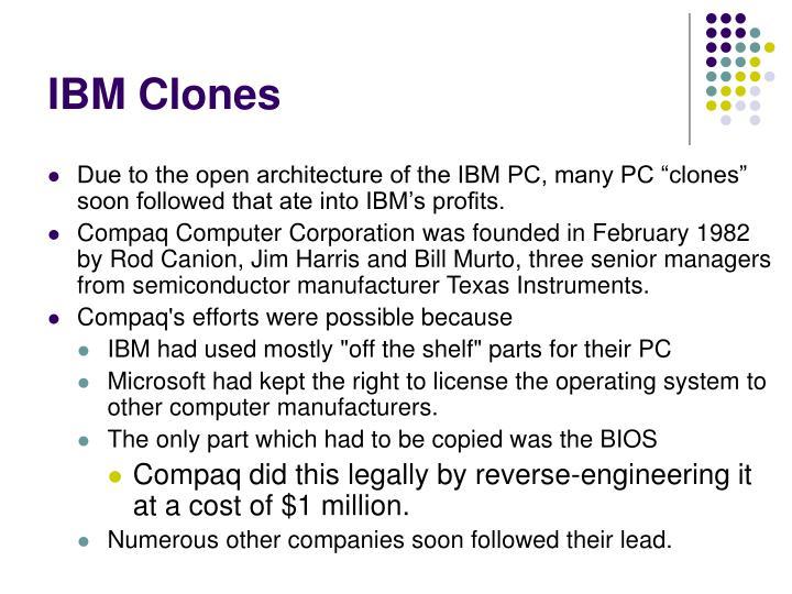 IBM Clones