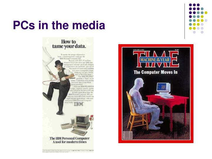 PCs in the media