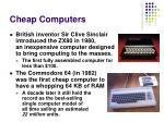 cheap computers