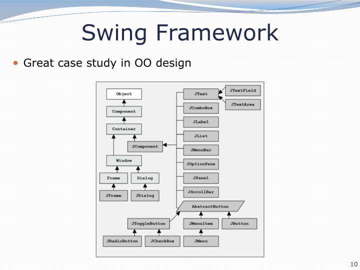 Swing Framework