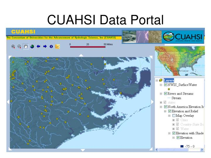 CUAHSI Data Portal
