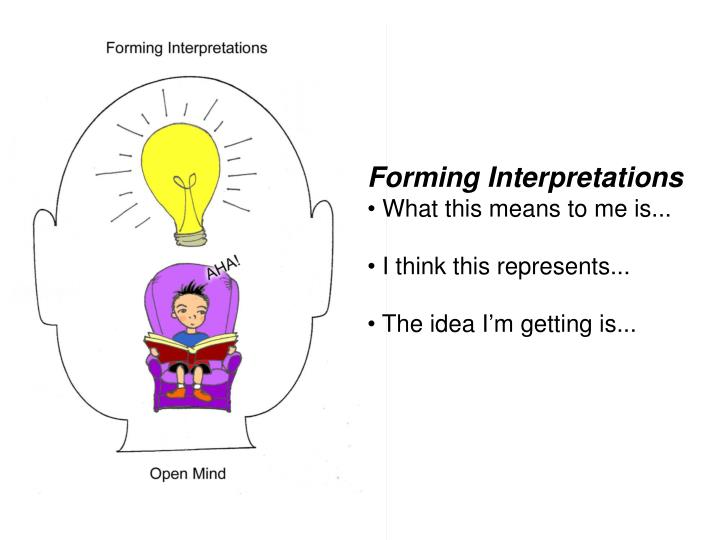 Forming Interpretations