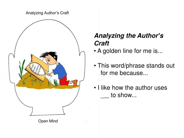 Analyzing the Author
