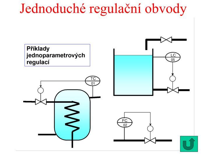 Jednoduché regulační obvody