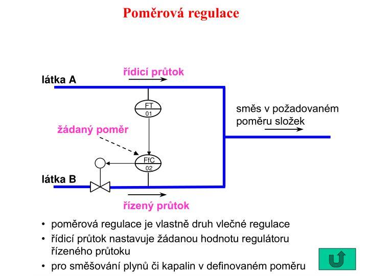 Poměrová regulace