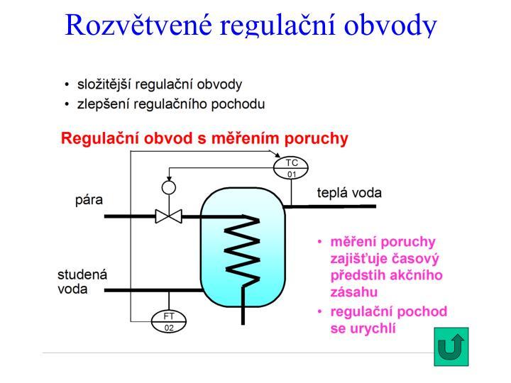 Rozvětvené regulační obvody