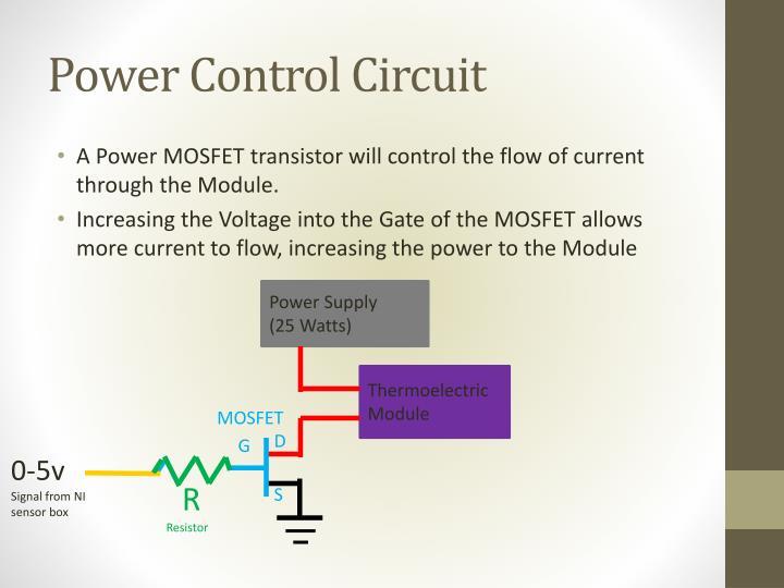 Power Control Circuit