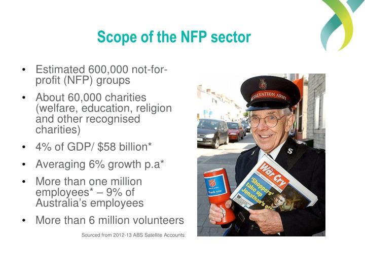 Scope of the NFP sector