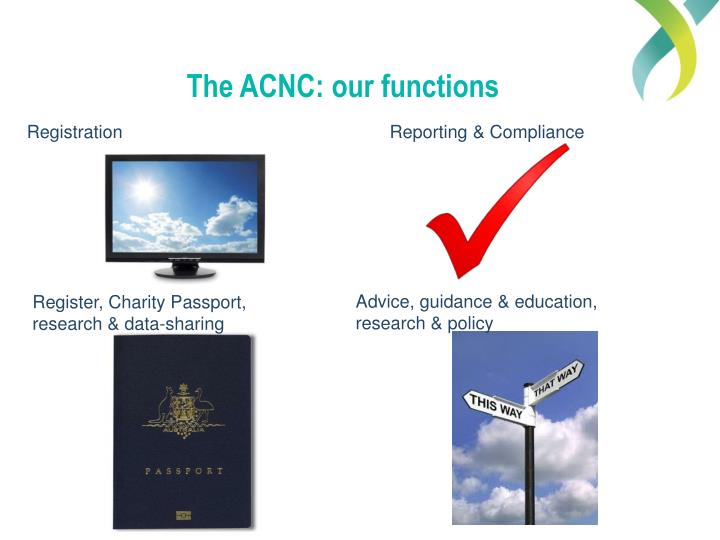 The ACNC: our functions