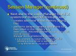 session manager continued1