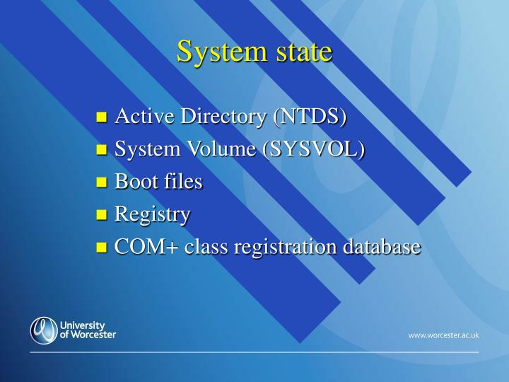 System state