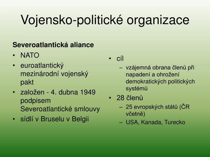 Vojensko-politické organizace