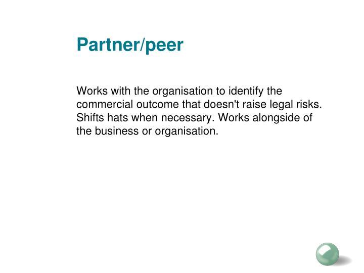 Partner/peer