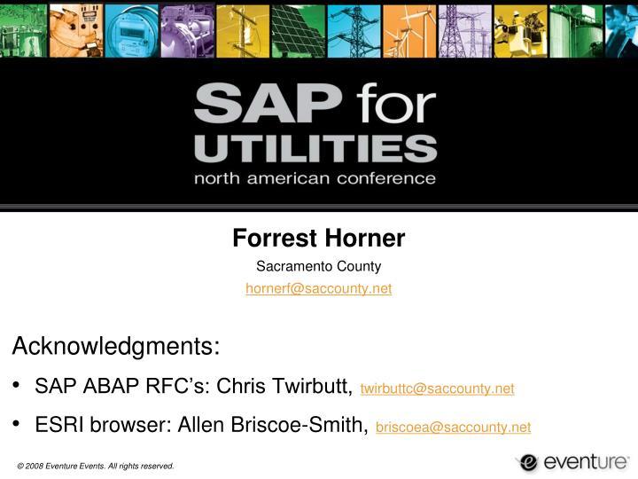 Forrest Horner