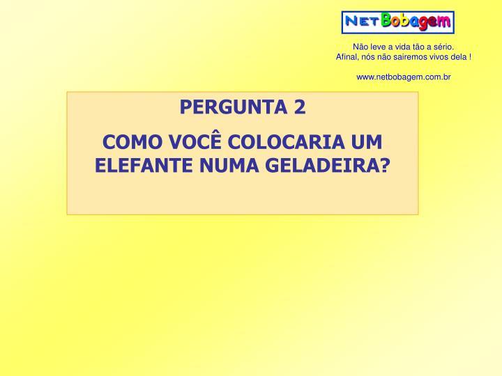 PERGUNTA 2