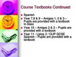 course textbooks continued3