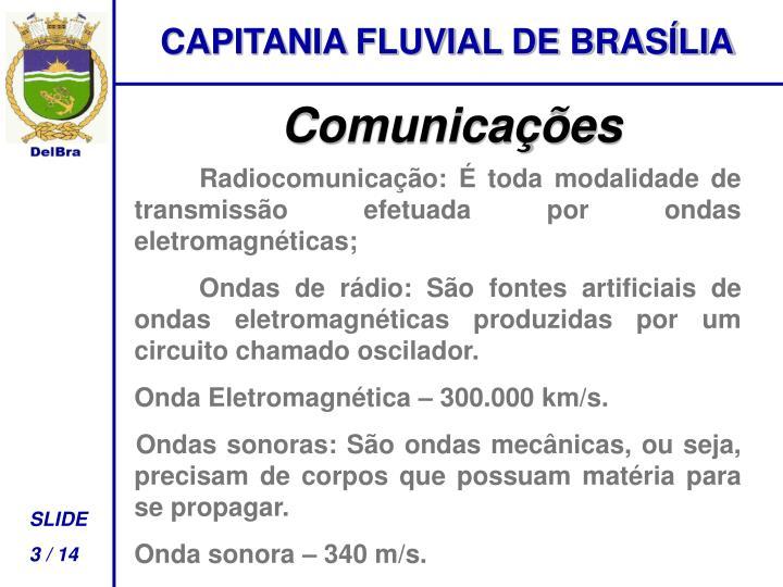 CAPITANIA FLUVIAL DE BRASÍLIA