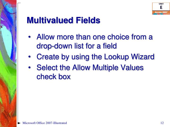 Multivalued
