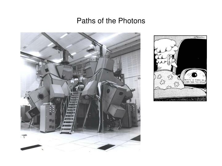 Paths of the Photons