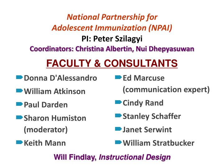 National Partnership for