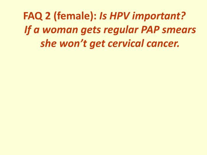 FAQ 2 (female):