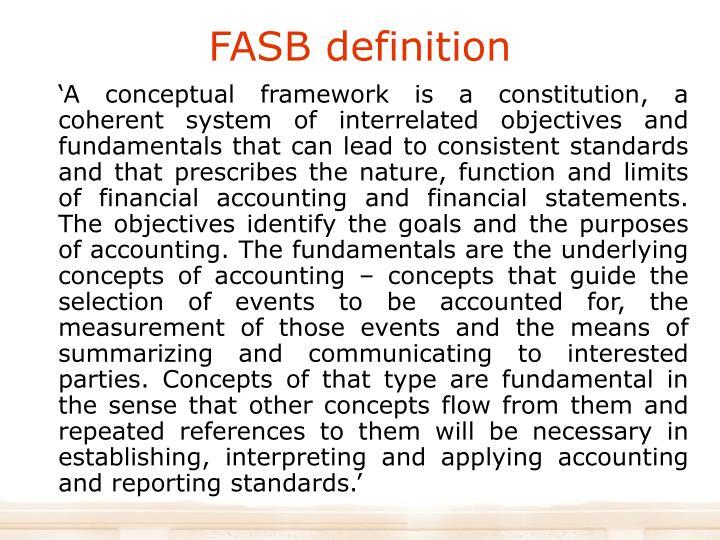 FASB definition