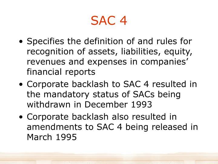 SAC 4