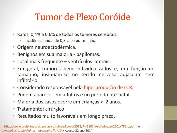 Tumor de Plexo Coróide