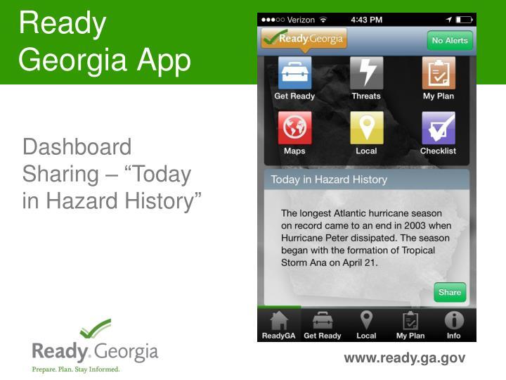 Ready Georgia App