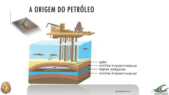 A Origem do Petróleo