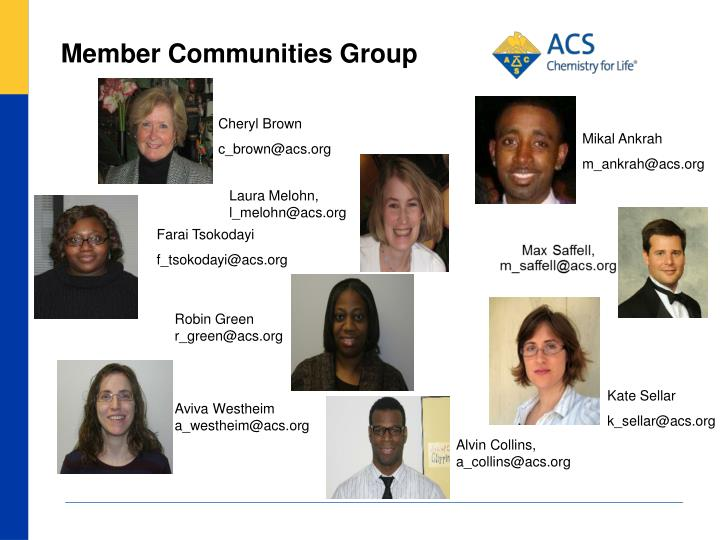 Member Communities Group
