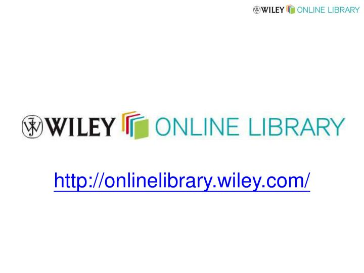 http://onlinelibrary.wiley.com/