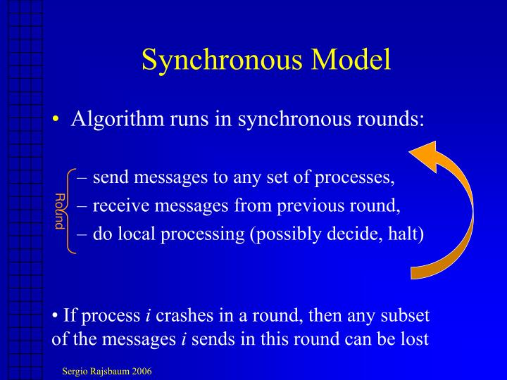 Synchronous Model