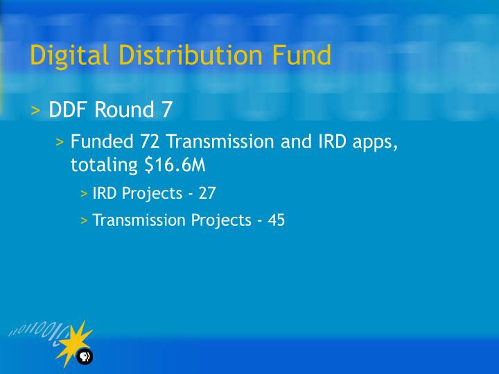 Digital Distribution Fund