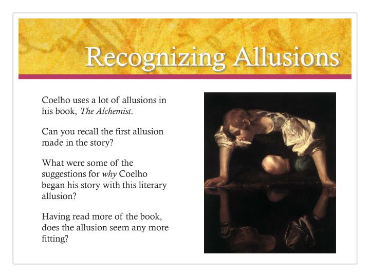 Recognizing Allusions